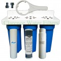 Triple stage water softener & purifier system Triple-1025PS1-GTS1-10-1025P100C- POH