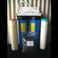 Chlorine Town Large Twin Whole of House Water Filter System With Reusable Filters.