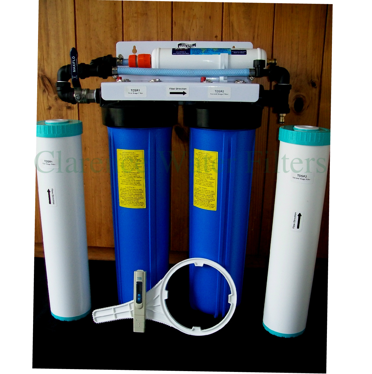 Demineralizing Water Filter