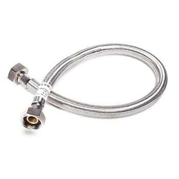 "1/2"" 450mm Stainless Steel Flexible Braided Hose"