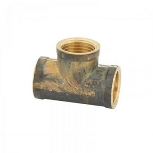 "Brass 3/4"" Female BSP Tee"
