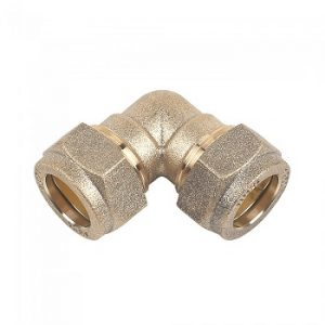 Brass Compression Elbow fitting
