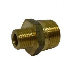Brass Nipple 1-2inch x 1-4inch