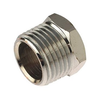 "Chrome 1/2"" x 1/4"" brass bush"