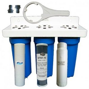 POH Triple stage water softener AP10X3 POH 1025PS1 GTS1-10 P100C