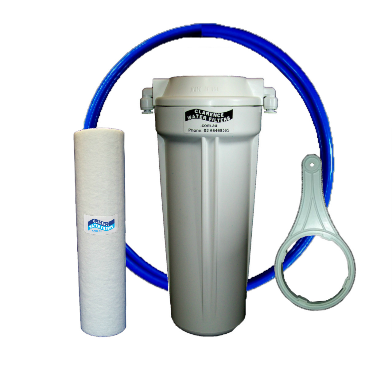 Line Water Filter Clarence Water Filters Australia 10 Inline Sediment Water
