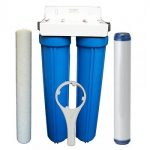 Small Twin Whole House Filter System & Filters 20″ x 2.5″