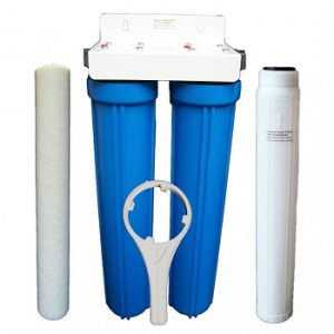 SMALL TWIN WHOLE HOUSE FILTER SYSTEM