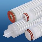 Pleated Polypropylene Filters and Membranes